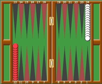 how to set up and play backgammon
