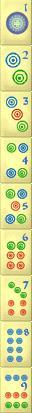 mahjong solitaire circles