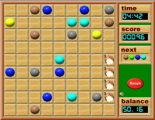 Color Lines game online