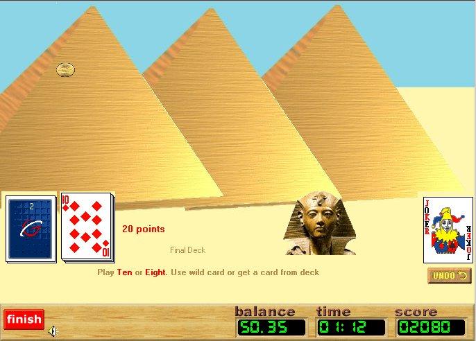 tripeaks pyramid