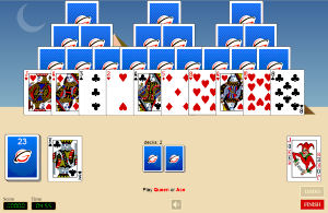 tri-peaks html5 game, tri peaks rush