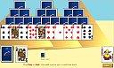 play tri-peaks solitaire online
