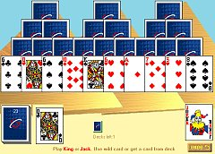 play online tripeaks - pyramids solitaire
